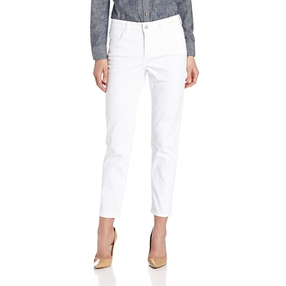 NYDJ Denim - NWT Not Your Daughters Jeans White Ankle Jeans